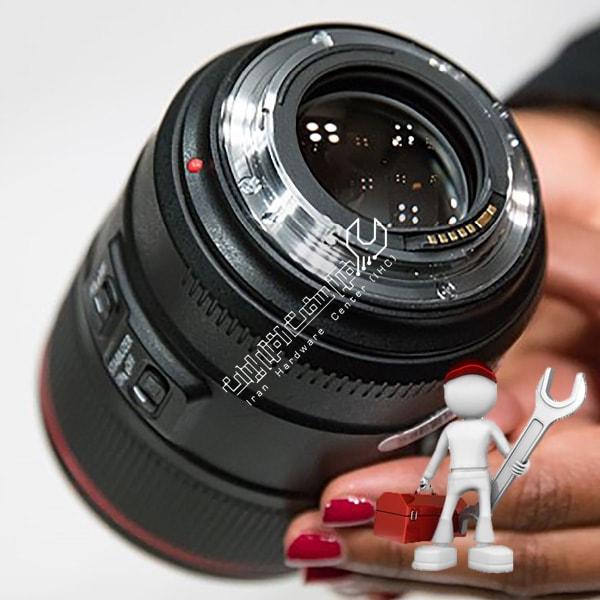 تعمیر لنز دوربین نیکون