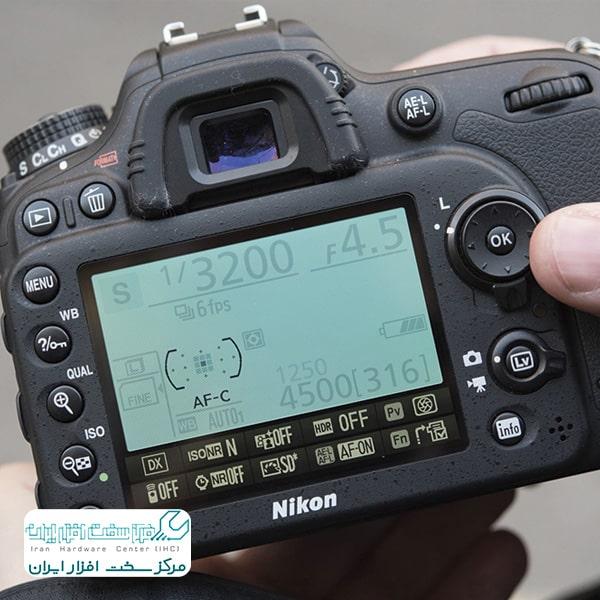 ریست دستی دوربین های DSLR نیکون