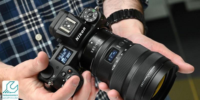 راه اندازی دوربین نیکون